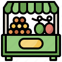 fruit, shop, healthy, food, store, diet, vegetable icon