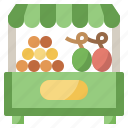 diet, food, fruit, healthy, shop, store, vegetable icon
