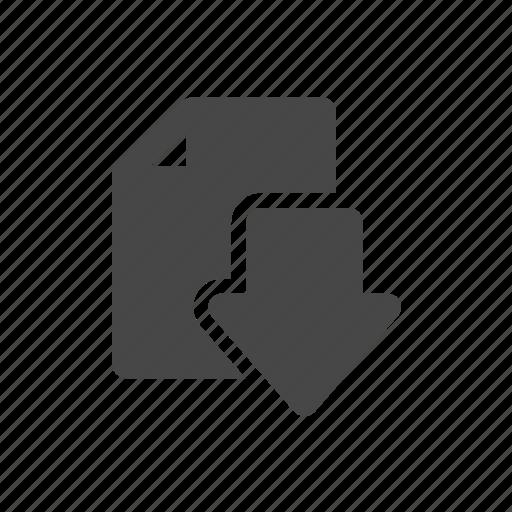 copy, data, document, download icon