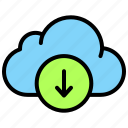 download, cloud, storage, server, database, cloudy