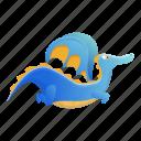 animal, baby, blue, child, dragon, flying