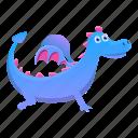 animal, baby, character, cute, dragon, funny