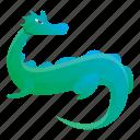 baby, child, dragon, green, nature, reptile