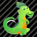 child, dragon, tail, tattoo, tribal