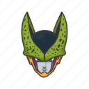 alien, anime, cartoons, cell, dragon ball, villain icon