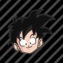 anime, cartoons, dragon ball, goten, hero, saiyan, son goten