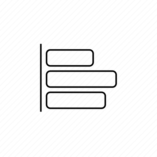 align, alinear, design, elements, ilustrate icon