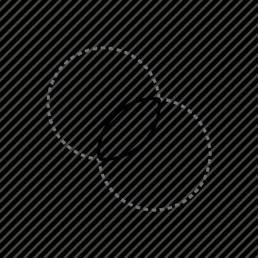 align, arquitecture, design, draw, interseccion, intersection, middle icon