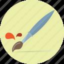 brush, color, draw, paint, pen, pencil icon
