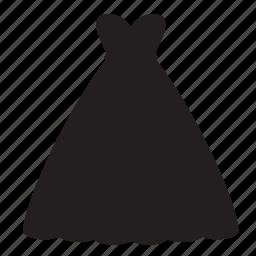 dress, dresswedding, long, shopping, skirt icon