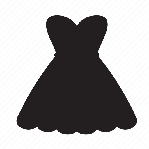 clothes, dress, long, shopping, skirt icon
