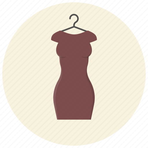 clothes, clothing, dress, fashion, hanger, style, woman outfit icon