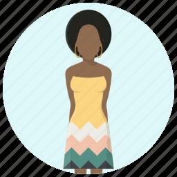 clothing, dress, fashion, girl, style, user, woman icon