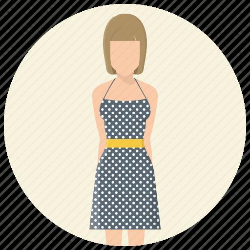 avatar, clothing, dress, fashion, girl, style, woman icon