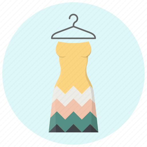 clothes, clothing, dress, fashion, hanger, style, woman clothes icon