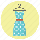 clothes, clothing, dress, fashion, hanger, style, women outfit icon
