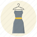 clothing, dress, fashion, hanger, style, wear, women clothing icon