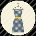 clothing, dress, fashion, hanger, style, wear, women clothing icon