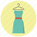 clothes, clothing, dress, fashion, hanger, style, woman dress icon