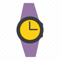 accessory, clock, fashion, style, time, watch, wrist icon