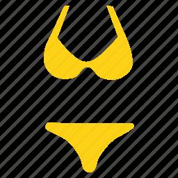 bikini, clothing, fashion, sexy, suit, swim, wear icon