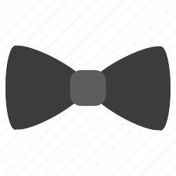 accessory, bow, clothing, dress, formal, neck, tie icon