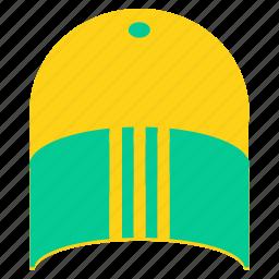 cap, clothing, dress, fashion, sports, style, wear icon