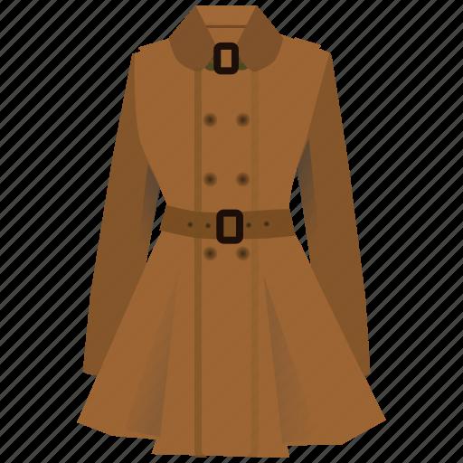 clothing, coat, dress, fashion, style, wear, women icon