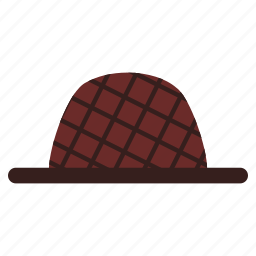 brim, clothing, fashion, hat, hipster, style, wear icon