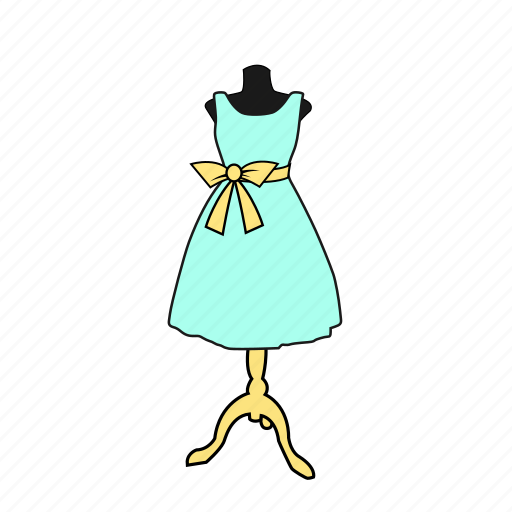 apparel, display, dress, dummy, fashion, mannequin icon