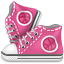 allstar, dribbble, shoes icon