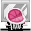 dribbble, rebound icon