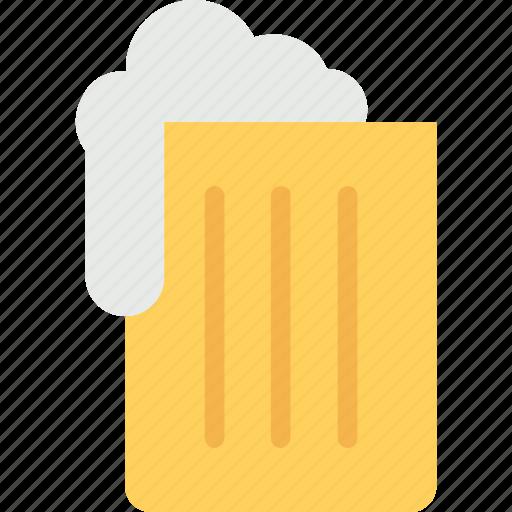 ale, beer, beer mug, beverage, liquor icon