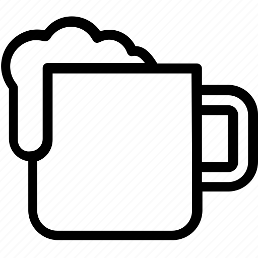 caffeine, cappuccino, coffee, coffee mug, mocha icon
