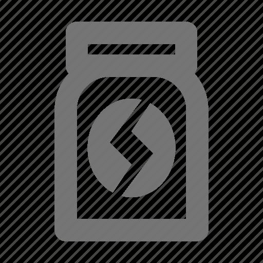beverage, coffee, jar icon