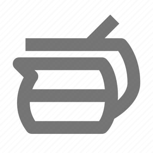 beverage, coffee, drink, filter, machine, pot icon