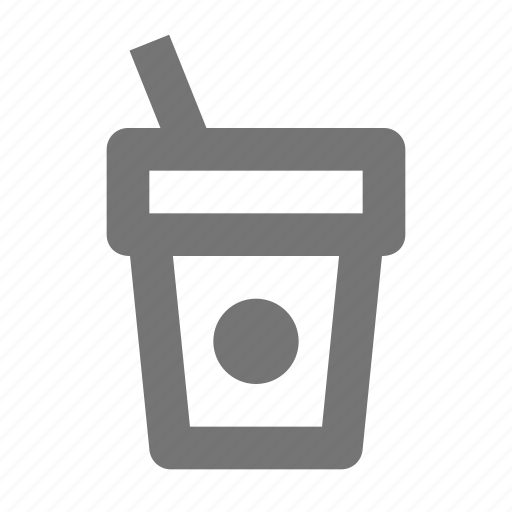 beverage, chocolate, coffee, cup, hot, straw, tea icon