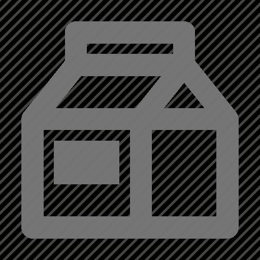beverage, carton, milk icon