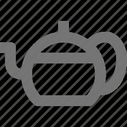 beverage, kettle, pot, tea icon
