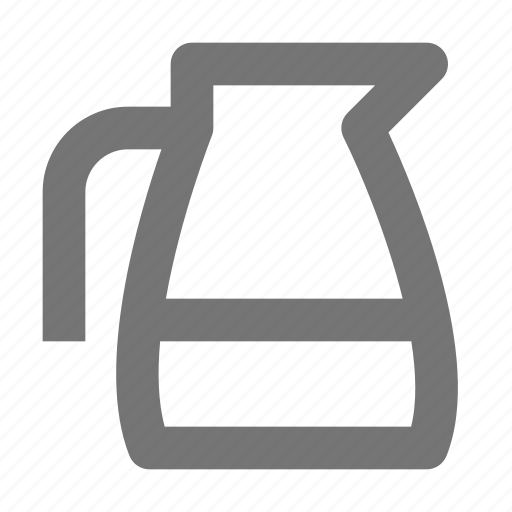 beverage, coffee maker, jug, mug icon