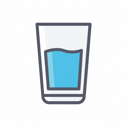 beverage, drinks, water icon
