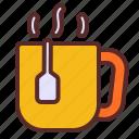 tea, mug, warm
