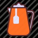 lemon, teapot, glass