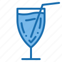 business, enjoyment, food, juice, people, restaurant, service icon
