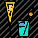 bar, barista, cafeteria, counter, martini, shop, work icon