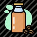 bottle, coffee, drink, eat, milk, sleep