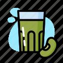 bean, drink, glass, milk, soya, sweet