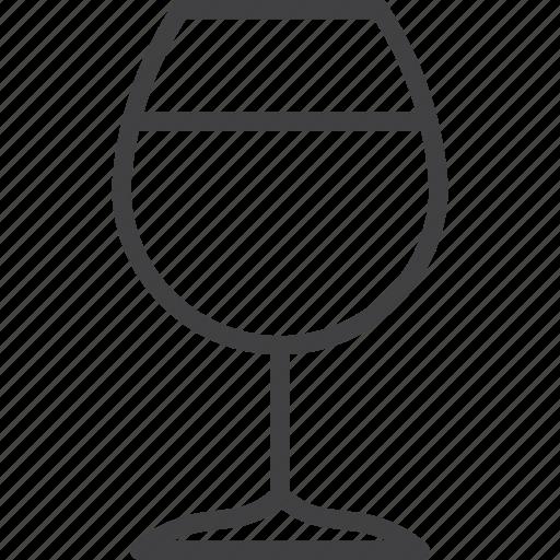 glass, wine, wineglass icon