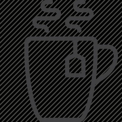 bag, cup, hot, mug, tea icon