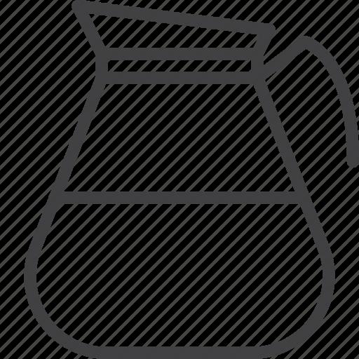 coffee, kettle, kitchen, pot icon